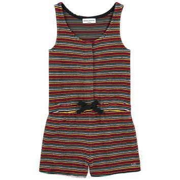 Sonia Rykiel Girls Colorful Striped 'Alana' Romper