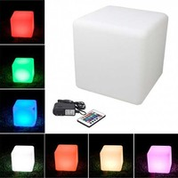 16 inch LED Cube Indoor/Outdoor Furniture