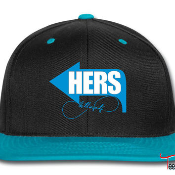 hers - his right side Snapback