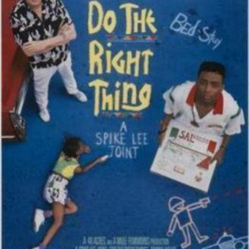 Do The Right Thing movie poster Sign 8in x 12in