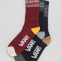 Vans Konrad Crew Sock-Pack Of 3 - Urban Outfitters