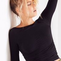 Free People Low Back Layering Top