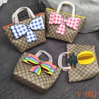 HCXX 19Aug 447 Gucci Opinionated Large-capacity Bow Decoration Tote Bag 21-20 73