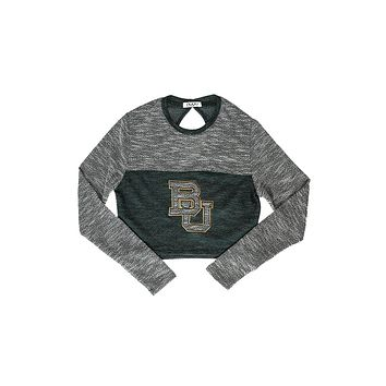 Baylor University Terry Crop Top