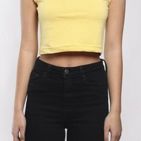 Vintage Re-Work Polo Crop Tank