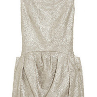 Theyskens' Theory | Dilliam metallic frayed brocade dress | NET-A-PORTER.COM
