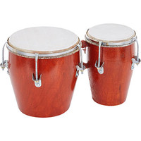 Brown Bongo Drums