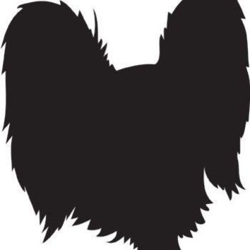 Russian Toy Silhouette Dog Puppy Breed Long Die Cut Vinyl Transfer Decal Sticker