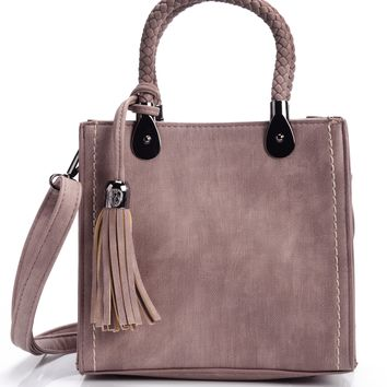 Press Rewind Crossbody - Mauve