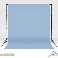 """Photography Vinyl Backdrop Photo Backdrop Comes In """"Cerulean"""" Perfect For Infant, Baby, Kids, Photography Shoots Background (FD1815)"""