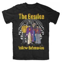 Beatles Dance Floor Yellow Submarine T-Shirt X-Large