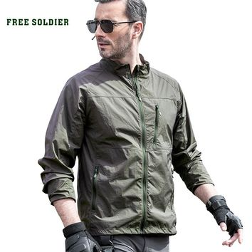 Outdoor camping hiking  jacket without hood ,high protection from harmful UV rays sun-protective coat