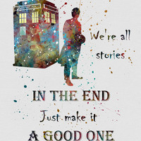 Tardis Dr. Who Quote