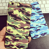 Cool Camouflage iPhone 5s 6 6s Plus Case Gift-139