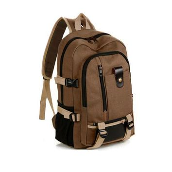 Travel Backpack Military Backpack Luggage Backbag Canvas Shoulders College  Teen Men Backpack Mochilas Hombre G