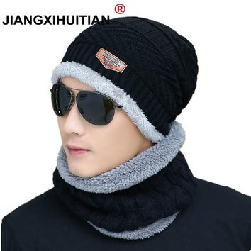 2018 Hot Winter Hats Skullies Beanies Hat Winter Beanies For Men Women Wool Scarf Caps Balaclava Mask Gorras Bonnet Knitted Hat