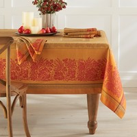 Wine Country Harvest Jacquard Tablecloth