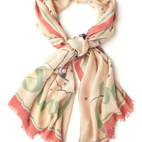 Things are Looking Uphill Scarf | Mod Retro Vintage Scarves | ModCloth.com