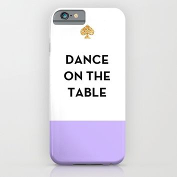 Dance on the Table - Kate Spade Inspired iPhone & iPod Case by Rachel Additon | Society6
