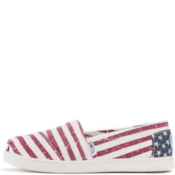 Toms for Kids: Classic Americana Canvas Flag