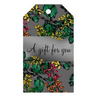 Wildflowers Pattern Gift Tags