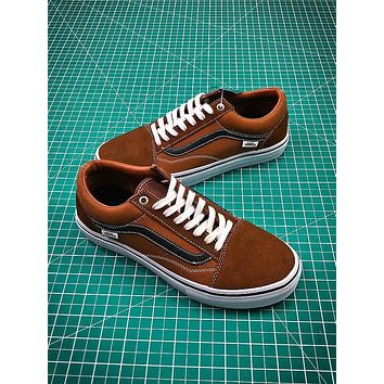 Vans Old Skool Pro VN000ZD4OJF Brown