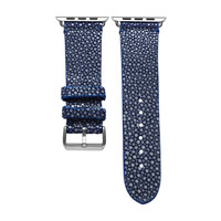 Blue Stingray Apple Watch Strap