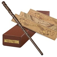 universal studios hermione from harry potter interactive wand new with box