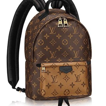 AUGUAU LV Louis Vuitton damier ebene backpack (three styles available)
