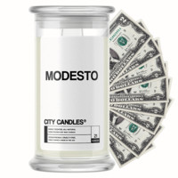 Modesto | City Cash Candle®