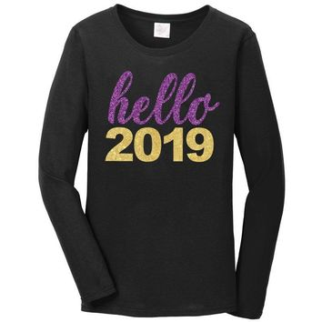 ... Dress store  f9901 279af Hello 2019 Purple Shirt Mommy Me pre order ... 96972c978964
