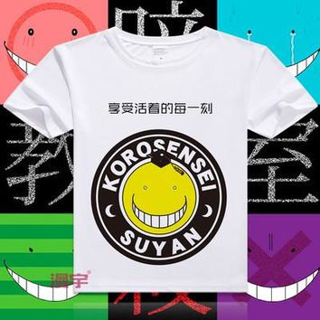 Assassination Classroom Short Sleeve Anime T-Shirt V6