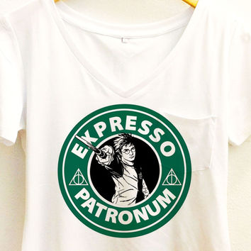 Harry Potter Coffee shirt | Deathly Hallows | Expresso Patronus