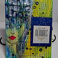 Oh The Memories Mixed Media Canvas Board. Ready to Ship