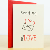 LOVE card - Hand made greeting cards, Love you card, Valentines card, Funny love card, Romantic cards, Greeting cards, Love card for her