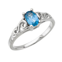 Precious Gift™ Youth Birthstone Ring - December