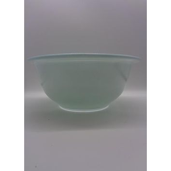 Pyrex Corning 1980's #322 Blue Bowl
