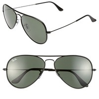 Men's Ray-Ban 58mm Aviator Sunglasses - Arista