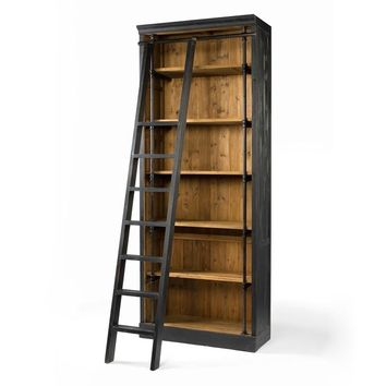 ODE BOOKCASE WITH LADDER