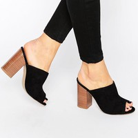 New Look | New Look Block Heel Mule at ASOS