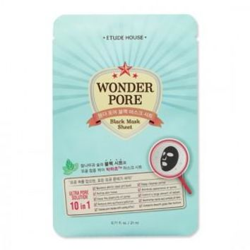 ETUDE WONDER PORE BLACK MASK SHEET