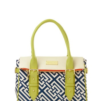 Haig Point Fold-Over Satchel By Spartina 449