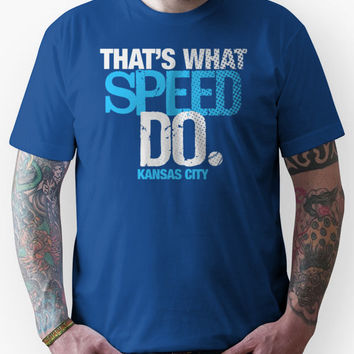 thats what speed do Unisex T-Shirt