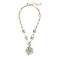 J.Crew Womens Radial Medallion Necklace