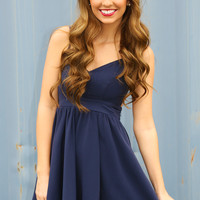 Dream Within A Dream Dress: Navy
