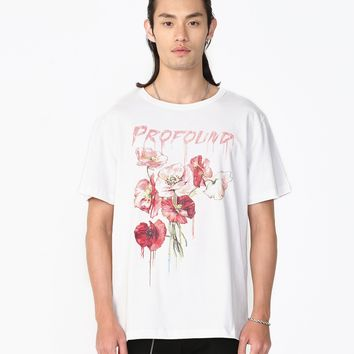 Dripping Flower Tee