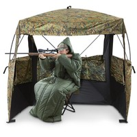 HQ ISSUE Tactical Sleeping Bag with Arms, Olive Drab - 423975, Rectangle Bags at Sportsman's Guide