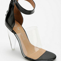 Jeffrey Campbell Not There Clear Strap Heel