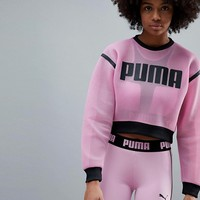 Puma Exclusive To Asos Active Mesh Sweatshirt at asos.com