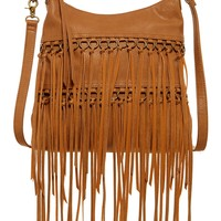 Julietta Fringe Crossbody Messenger